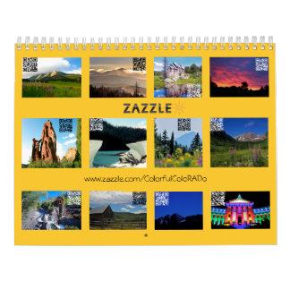 Colorful Colorado 2016 Edition Calendar