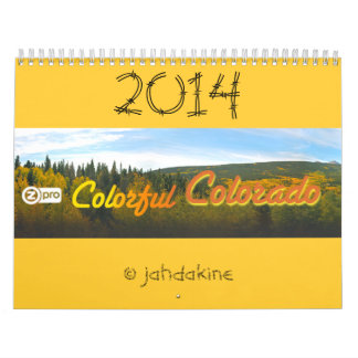 Colorful Colorado Calendar