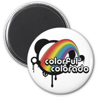 colorful colorado. magnet