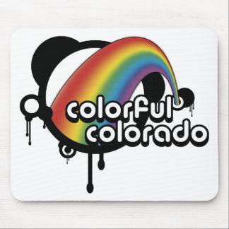 colorful colorado. mouse pad