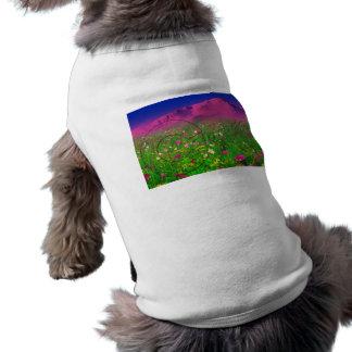 Colorful Colorado, Pikes Peak Mountain Pet T Shirt
