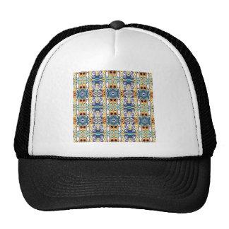 Colorful Columns Pattern Trucker Hat