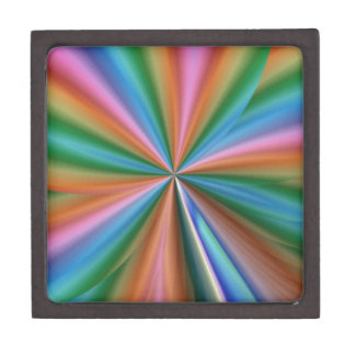 colorful computer generated graphic  like flower gift box
