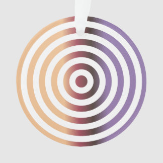 Colorful concentric circles