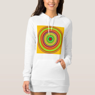 Colorful concentric circles shirt