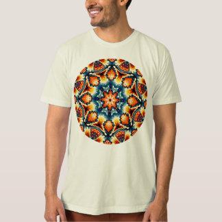 Colorful Concentric Motif T-Shirt