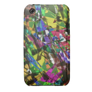 Colorful Confetti Abstract iPhone 3G/3GS Case iPhone 3 Covers