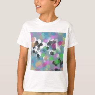 Colorful Confetti Bokeh Dots T-Shirt