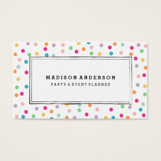 Colorful Confetti | Business Cards
