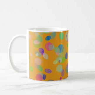 Colorful confetti coffee mug