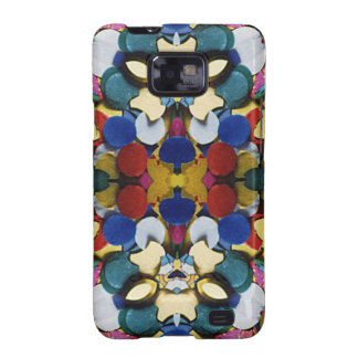 Colorful Confetti Kaleidoscope Galaxy S2 Cases