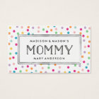 Colorful Confetti | Mommy Business Cards