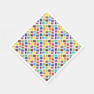 Colorful Confetti Standard Luncheon Napkin