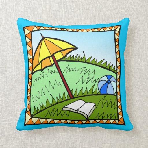 Colorful Contemporary  Art Design  Throw Pillow
