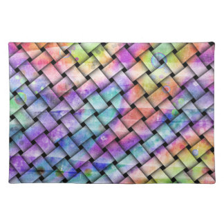 Colorful, Contemporary BRIGHT WEAVE PLACEMAT