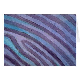 Colorful Contour Lines Cards