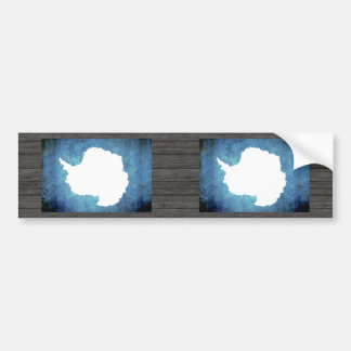 Colorful Contrast Antartican Flag Bumper Sticker