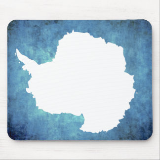 Colorful Contrast Antartican Flag Mouse Pad