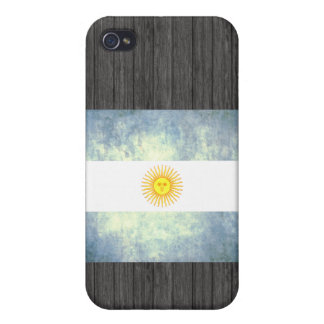 Colorful Contrast Argentinean Flag iPhone 4/4S Case
