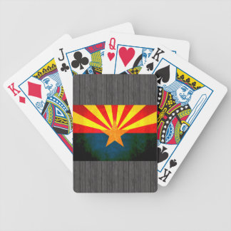 Colorful Contrast Arizonan Flag Bicycle Playing Cards