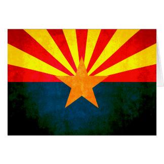 Colorful Contrast Arizonan Flag Greeting Cards