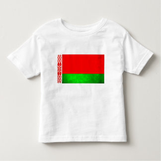 Colorful Contrast Belarusian Flag Toddler T-shirt