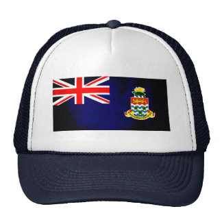 Colorful Contrast Caymanian Flag Trucker Hat