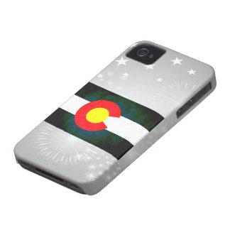 Colorful Contrast Coloradan Flag Case-Mate iPhone 4 Case
