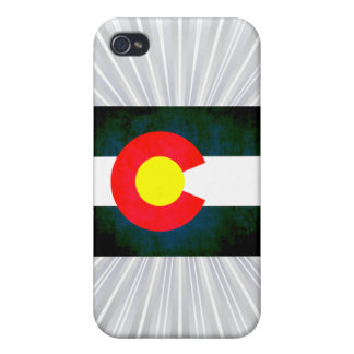 Colorful Contrast Coloradan Flag iPhone 4 Covers