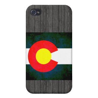 Colorful Contrast Coloradan Flag iPhone 4 Cover