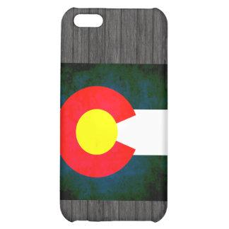 Colorful Contrast Coloradan Flag iPhone 5C Case