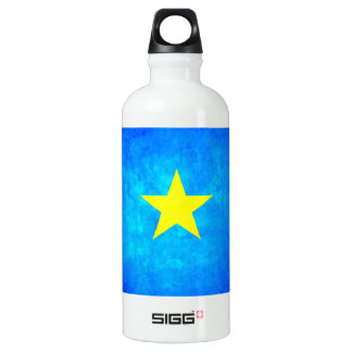 Colorful Contrast Congese Flag Aluminum Water Bottle