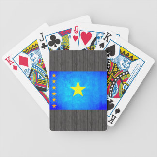 Colorful Contrast Congese Flag Bicycle Playing Cards