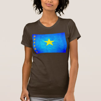 Colorful Contrast Congese Flag T-Shirt