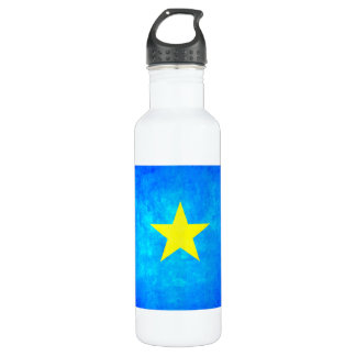 Colorful Contrast Congese Flag Water Bottle