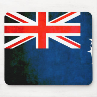 Colorful Contrast Cook Island Flag Mouse Pad