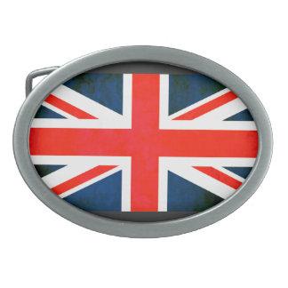 Colorful Contrast EnglishFlag Belt Buckle