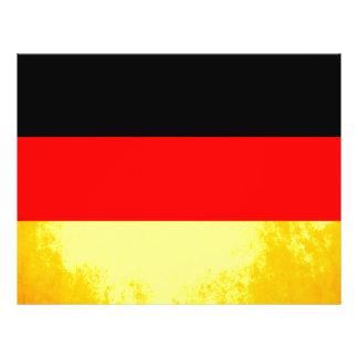 Colorful Contrast German Flag Flyer Design