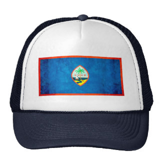 Colorful Contrast Guamanian Flag Hats