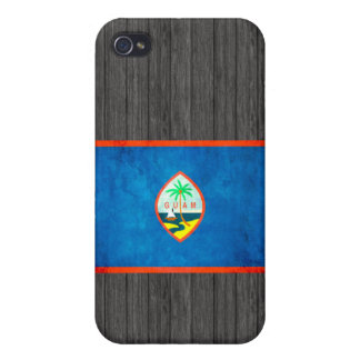 Colorful Contrast Guamanian Flag iPhone 4/4S Cases