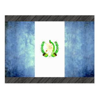 Colorful Contrast Guatemalan Flag Postcard
