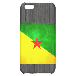Colorful Contrast Guianese Flag Cover For iPhone 5C