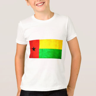 Colorful Contrast Guinean Flag T-Shirt