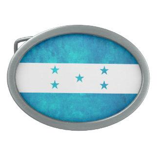 Colorful Contrast Honduran Flag Belt Buckle