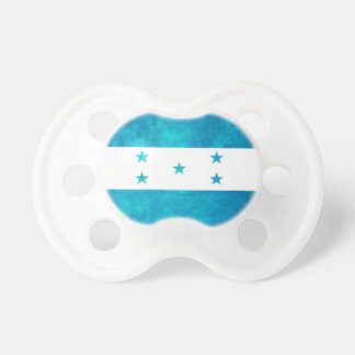 Colorful Contrast Honduran Flag Baby Pacifiers
