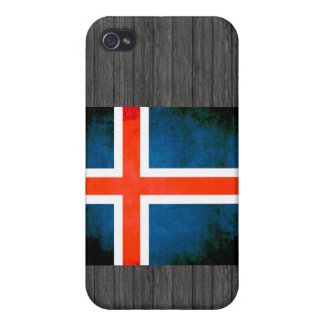 Colorful Contrast Icelander Flag iPhone 4/4S Covers