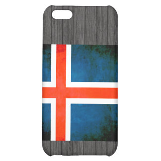 Colorful Contrast Icelander Flag Cover For iPhone 5C
