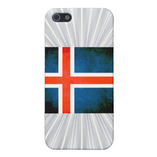 Colorful Contrast Icelander Flag iPhone 5 Cases