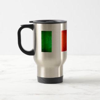 Colorful Contrast Italian Flag Coffee Mug