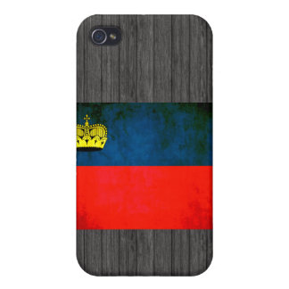 Colorful Contrast Liechtensteiner Flag Cases For iPhone 4